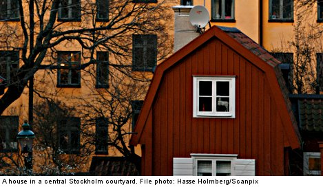 Sweden's average home price at 'record high'
