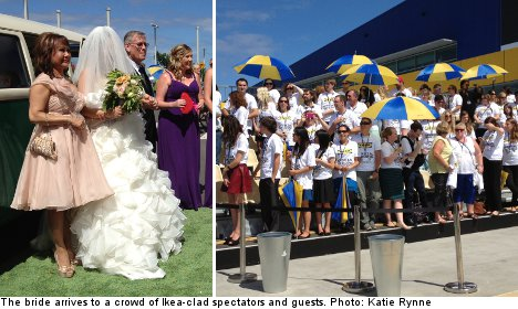 Ikea assembles wedding for flatpack lovers