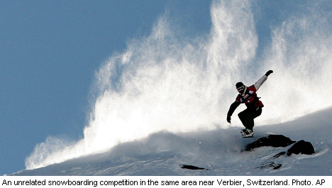 Swiss avalanche claims Swede's life