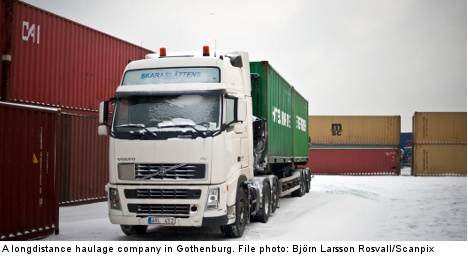 Transport industry pays price for strong krona