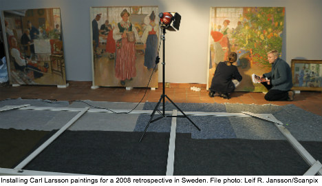 Museum aims to reclaim stolen Carl Larsson