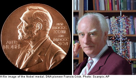 DNA pioneer's Nobel prize put up for auction