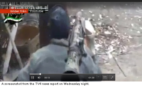 Stray Swedish weapons show up in Syria