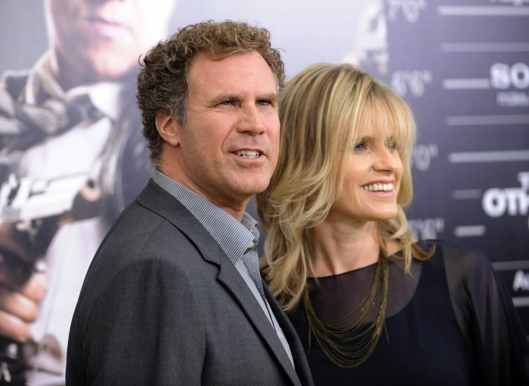 Actor Will Ferrell and wife Viveca Paulin attend the world premiere of 'The Other Guys' at the Ziegfeld Theatre in 2010 in New York. Photo: Evan Agostini/AP