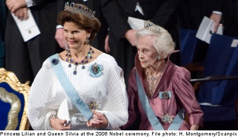 The miner's daughter who became Swedish royalty's grand old lady