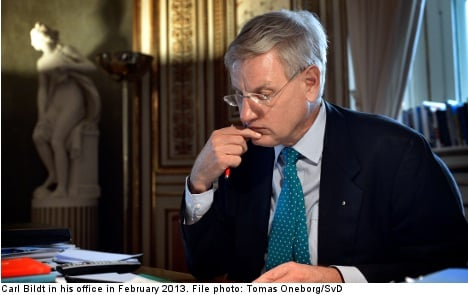 Bildt accused of leaking secrets to the US