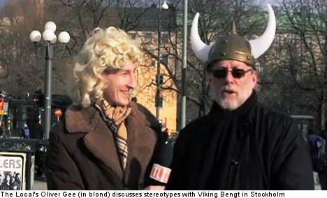 Are Swedes really all blondes and Vikings?