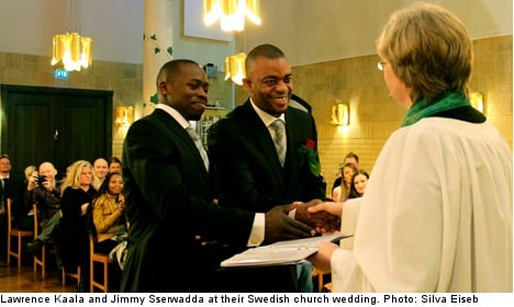 Gay Ugandan couple to remain in Sweden