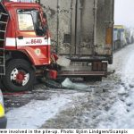 Police suspect eight drivers for fatal pile-up