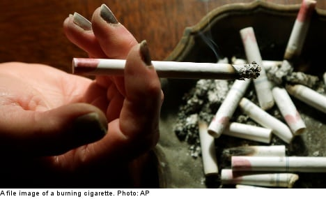 'Total smoking ban in Sweden by 2025'