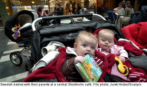 Stockholm cafe's kid ban has parents frothing