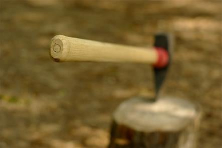 """Goddag yxskaft - Hello axe handle <br>Describing someone with a passing reference to an axe handle comes from an old tale, according to Malmgård, where an old man with poor hearing responds to a greeting (goddag) with an account of his woodwork efforts (making an axe handle). If a Swede ever lumps you in with an axe handle, be sure to succinctly and carefully explain why they're wrong. Or just repeat """"yxskaft"""" and they'll probably laugh.Photo: Adam Baker/Flickr"""