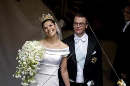 Pär Engsheden<br>Who knows if a bit of tit helped propel Engsheden's career from that point on, but he certainly stayed on in the royal family's good books. In 2010, Crown Princess Victoria strode down the aisle to wed her knight in shining sneakers, former personal trainer Daniel Westling, in an Engsheden gown. Photo: Lars Pehrson/Scanpix