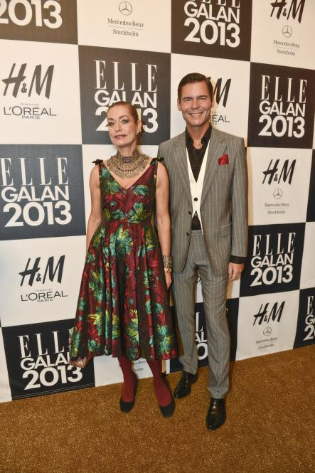Camilla Thulin<br>Thulin is at times uncharacteristically OTT for Sweden's bleak climate. Here she's appropriately colourful at the 2013 Swedish Elle magazine awards ceremony.Photo: Jessica Gow/Scanpix