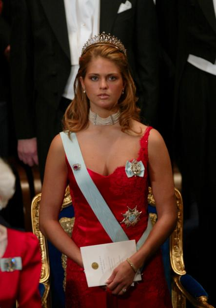 Pär Engsheden<br>That was in 2002, when a very young Princess Madeleine made Swedes drop their soup spoons in awe when she arrived at the Nobel Prize awards banquet. Let them eat... well... eh... boobs, seems to have been designer Pär Engsheden's fashion motto.Photo: Henrik Montgomery/Scanpix