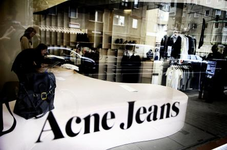 Acne<br>ACNE (Ambition to Create Novel Expression) was born in Stockholm in 1996.Photo: David Magnusson/Scanpix