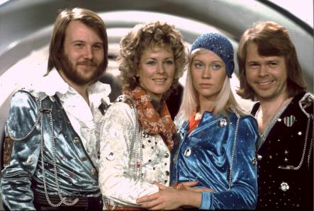 Abba's big breakthrough<br>Abba at the Eurovision Song Contest in Brighton, England, 1974. They won the competition with their song Waterloo.Photo: Olle Lindeborg/Scanpix