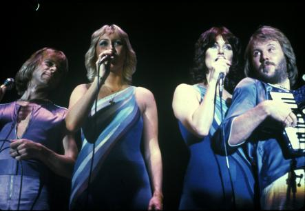 Abba during a gig in 1979Photo: Scanpix