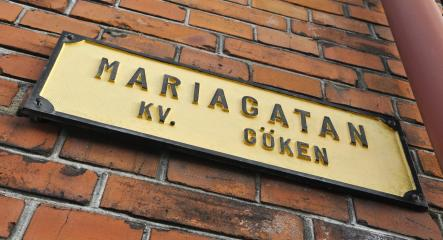 Maria Street<br>The most famous street is Maria Street, better known as Mariagatan. Why? I can't tell you why. Not yet anyway. Photo: Johan Nilsson/Scanpix