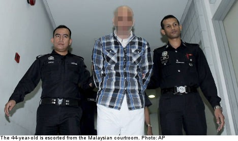 Swede sentenced to death in Malaysia