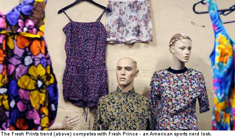 Fresh Prince fights for spring fashion's top slot