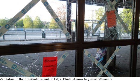 Stockholm riots spread west on sixth night