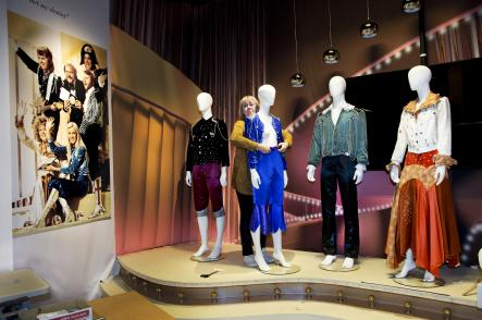 Costumes worn on stage by Abba membersPhoto: Lars Pehrson/Scanpix