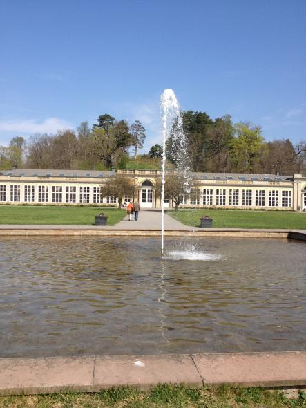 The Orangery Museum was built at the end of the 1600s and is open to the public during the summerPhoto: Lana Wimmer