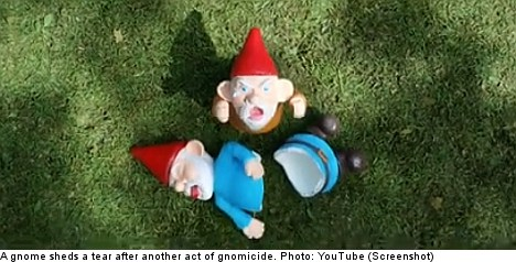 Brits repulsed by Ikea's gnome-bashing advert