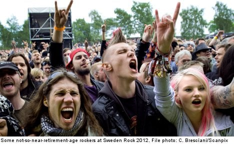Pensioners to recruit ageing Swedish rockers