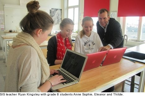 Stockholm International School - what's in IT for students?
