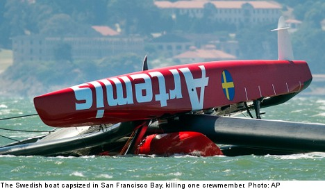 Swedish boat accident clouds America's Cup