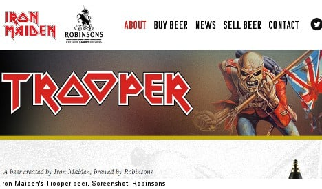 Iron Maiden beer stopped over skull label concerns