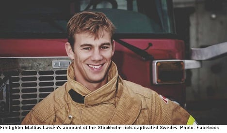 Firefighter to Stockholm rioters: I'll still help you