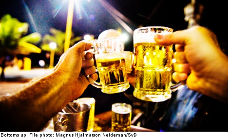 Sweden won't ban boozing after accidents
