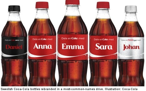 Coke leaves Muhammad out of Sweden PR drive