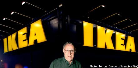 Ikea founder to move home to Sweden