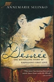 The women in 2007 all read Annemarie Salenko's Désirée, which tells the tale of Napoleon's first love who later became Queen of SwedenPhoto: Sourcebooks Landmark