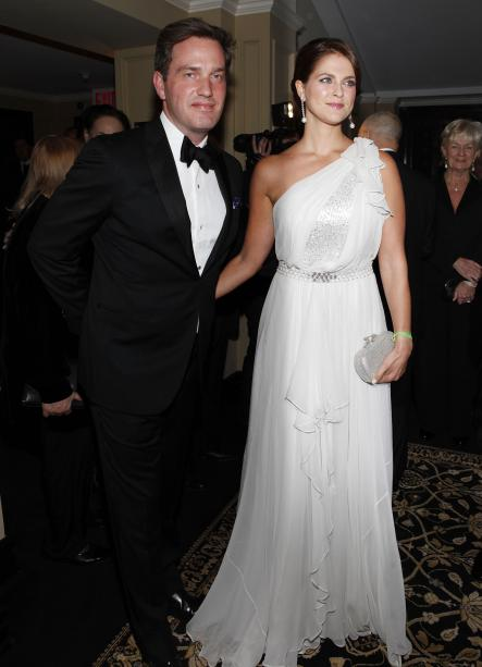 Chris O'Neill and Princess Madeleine at the 2012 Raoul Wallenberg Civic Courage Award Gala in New York.Photo: Amy Sussman/AP