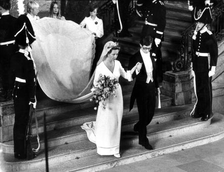 Princess Christina<br>Yet the King is the youngest of five. His four older sisters were cut off from the throne due to male primogeniture. Princess Christina wed Tord Magnuson in 1974.Photo: Scanpix