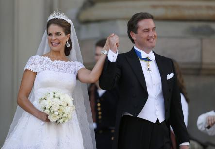 In Pictures: Princess Madeleine's royal wedding – ceremony