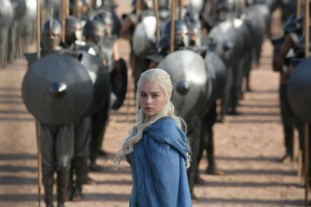 The Blonde <br>Daenerys Targaryen, the original stereotype of a blonde, blue-eyed Swedish woman... or is she?Photo: C MORE