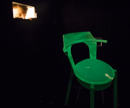 """""""Ghost""""<br>In a dark dark room there was a dark dark box; and in that dark dark box, there was a... chair. UglyCute's eerie green glowing chair is on the list because spooky furniture is rather rare. Nor do I often see green chairs. Think about it.Photo: Jean-Baptiste Beranger"""