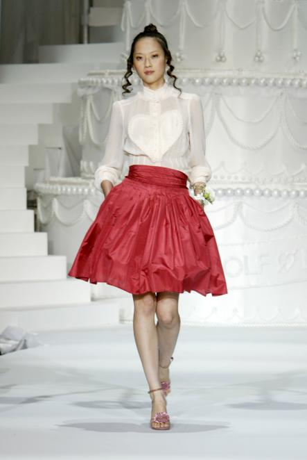 Viktor and Rolf, 2006<br>Cute hearts, silky pyjama jumpsuits and the darnedst American prom frocks makes this V&R H&M collaboration one of my favourites.Photo: H&M