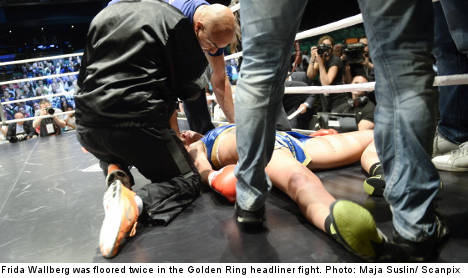 Boxer awakes from coma after knockout fight