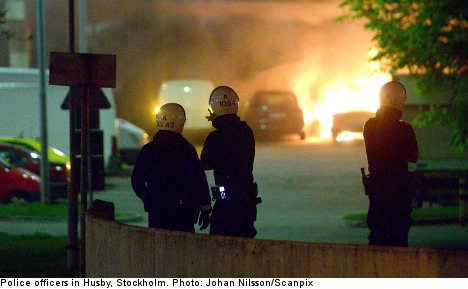 32 police officers hurt in Stockholm riots