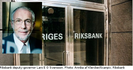 Ex-Riksbank official bashes rate policies