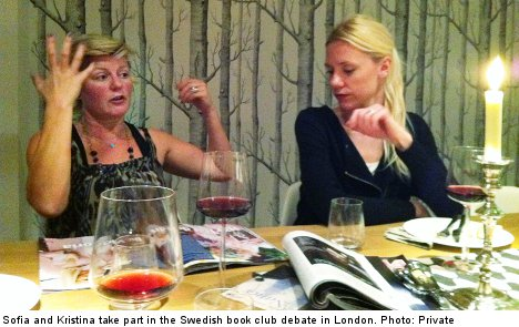 Swedish expats use book club to survive London