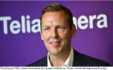 New Telia CEO 'excited' about the job