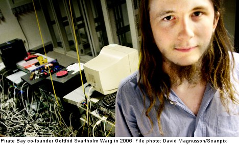 Pirate Bay co-founder jailed for two years